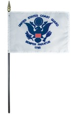 Coast Guard Endura-Poly Stick Flag