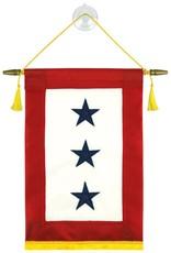 Blue 3 Star Service Banner