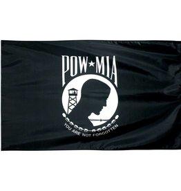 POW*MIA Double Sided Nylon Flag
