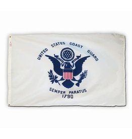 United States Coast Guard Nylon Flag