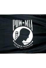 POW MIA Single Face Nylon Flag