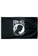 POW*MIA Single Sided Polyester Flag
