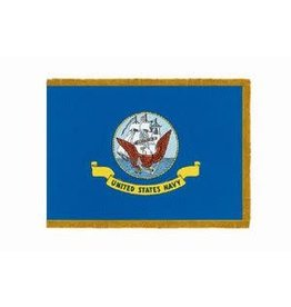 Navy Nylon Crown Flag