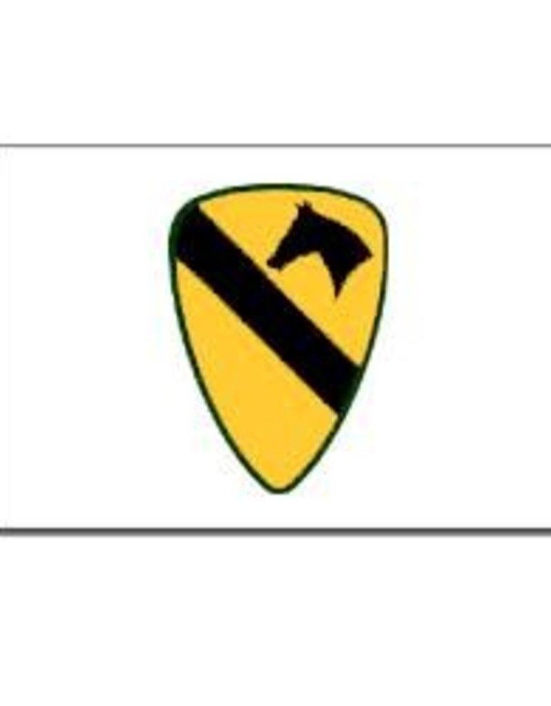 1st Calvary Division 3x5' Endura-Poly Flag