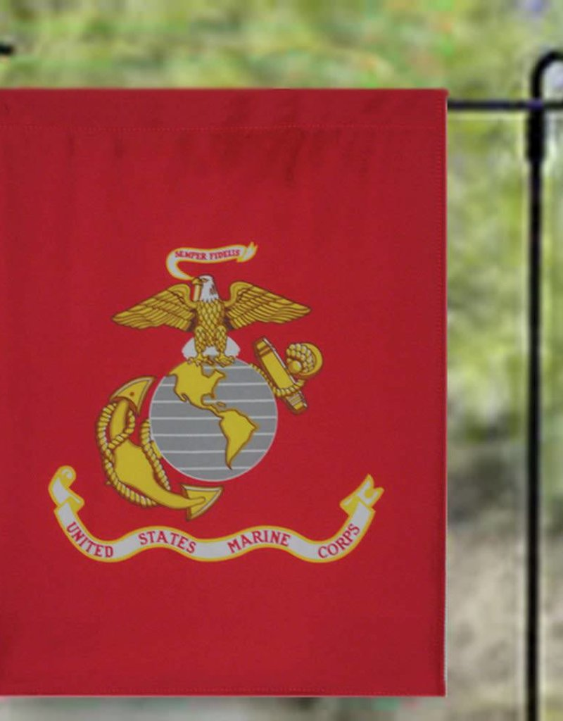 "United States Marine Corps 12""x18"" Nylon Garden Flag"