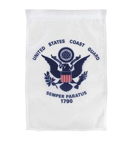 "Coast Guard 12""x18"" Nylon Garden Flag"