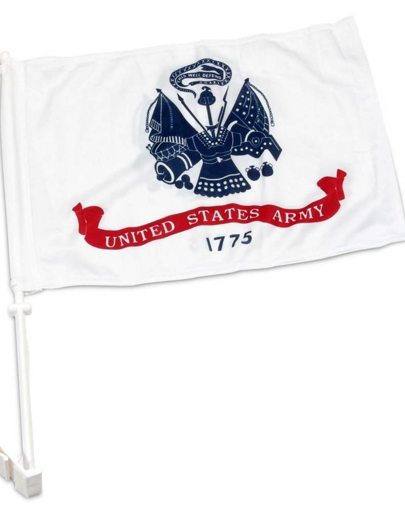 United States Army Auto Window Flag