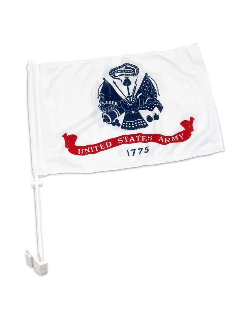 United States Army Auto Window Flag