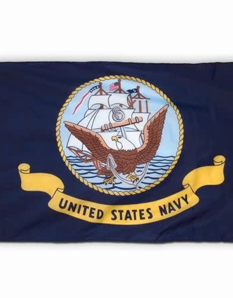 Navy Polyester Flag (Spectrapro)