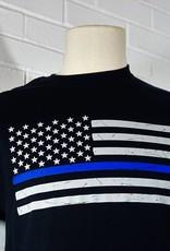 Thin Blue Line Flag T-Shirt