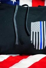 Thin Blue Line USA Thin Blue Line Honor Respect Hoodie
