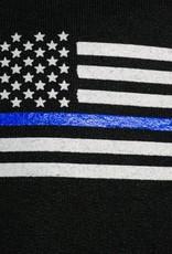 Thin Blue Line Flag Hoodie