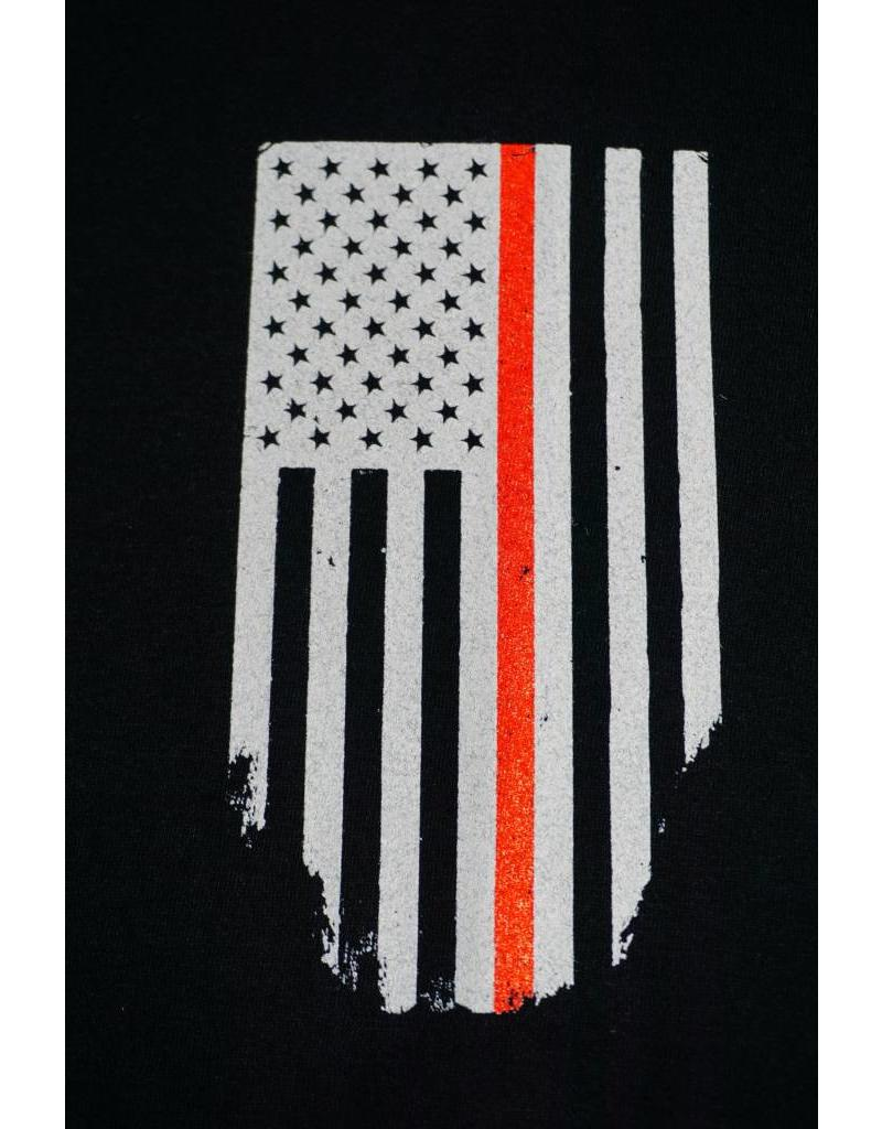 Thin Red Line Honor Respect T-Shirt