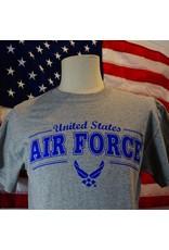 Grey Air Force w/Air Force Symbol T-Shirt
