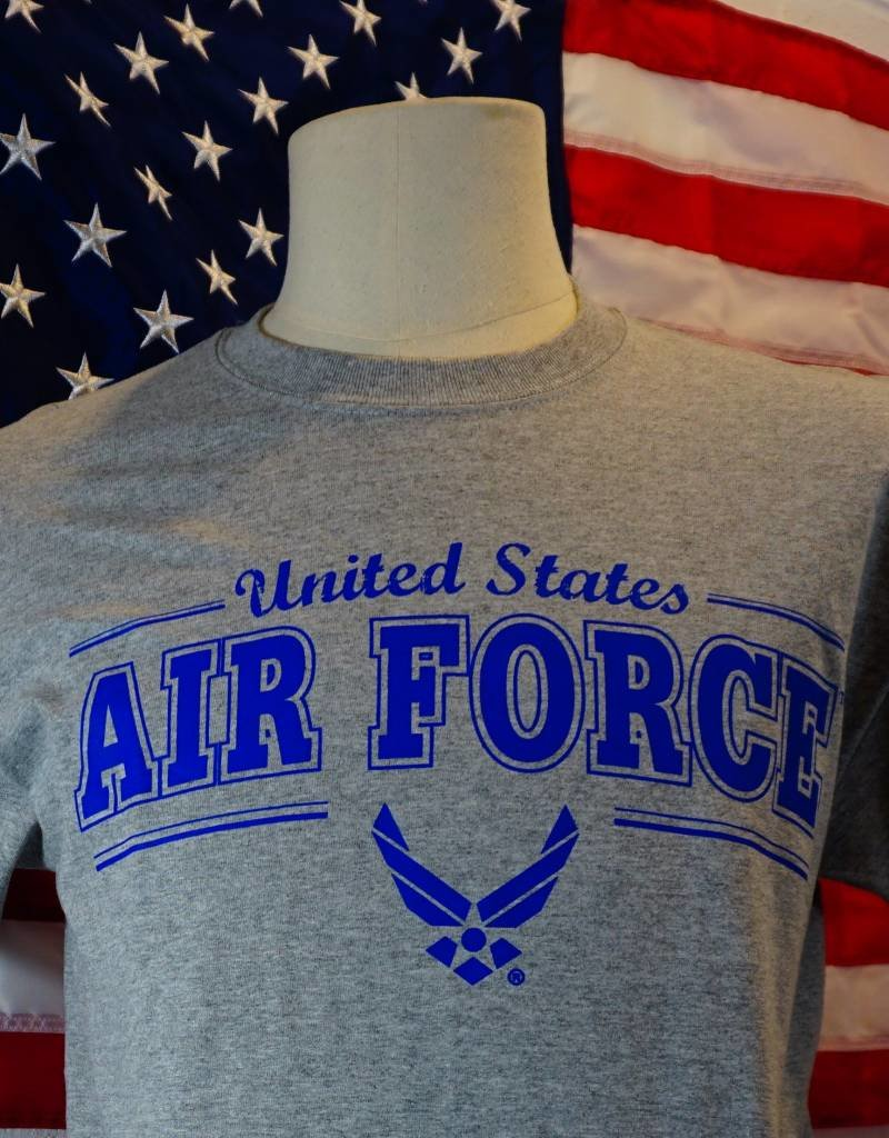 Grey Air Force w/Air Force Symbol T-Shirt