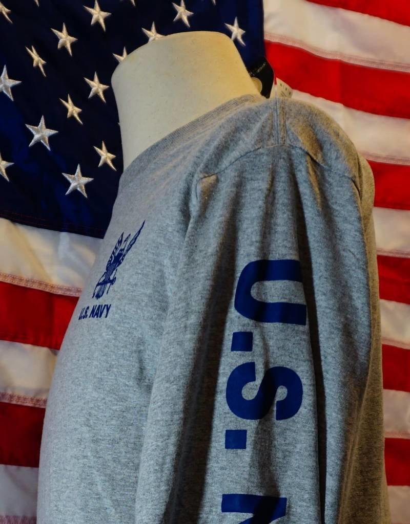 U S  Navy Long Sleeve T-shirt