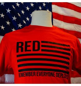 Remember Everyone Deployed (RED) T-Shirt