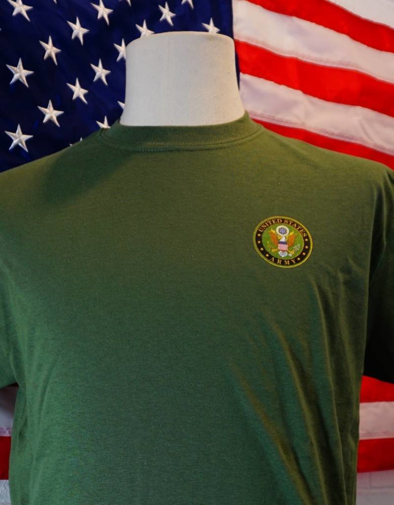 3643cd9c85 SM Army Seal T-Shirt - Stars & Stripes, The Flag Store