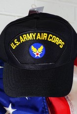 Army Air Corps Baseball Cap (Black)