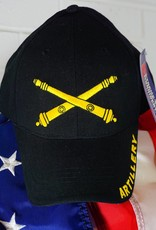 Army Artillery Baseball Cap (Black)