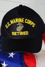 Marine Corps Retired Emblematic Baseball Cap