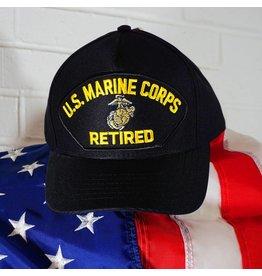 Marine Corps Retired Emblematic Baseball Cap