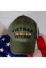 Vietnam Vet Ball Cap (OD Green)