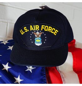 Air Force (Blue w/yellow ltrs) Baseball Cap
