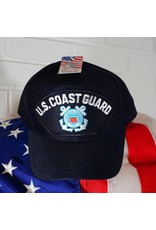 Coast Guard (Blue w/white ltrs & C. G. logo) Baseball Cap