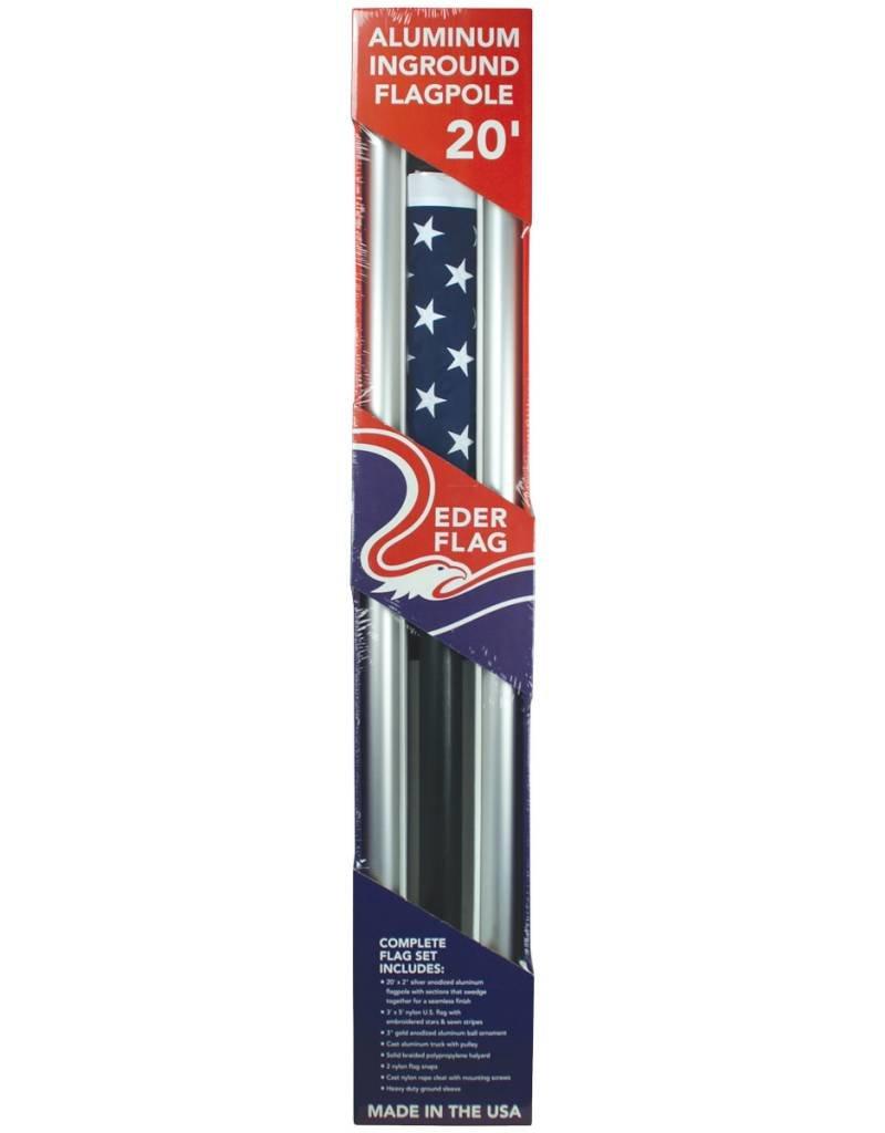 20 ft US Homesteader set/flag