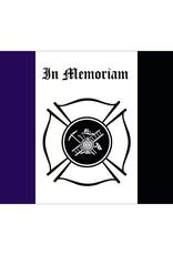 Fireman Mourning 3x5' Nylon Flag