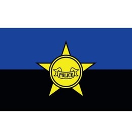 Police Remembrance 3x5' Nylon Flag