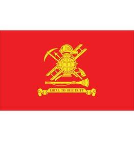 Firemen 3x5' Nylon Flag