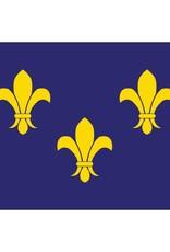 Fleur De Lis Historical Nylon Flag