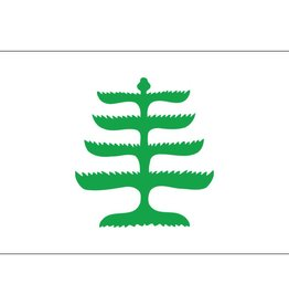 Pine Tree Historical Nylon Flag