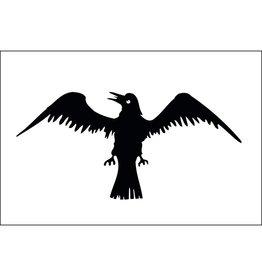 Raven Historical Historical Nylon Flag