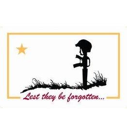 Flag For The Fallen (Lest They Be Forgotten) 3x5' Nylon Flag