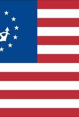 US Yacht Ensign Nylon Flag
