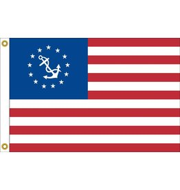 US Yacht Ensign Nylon Flag