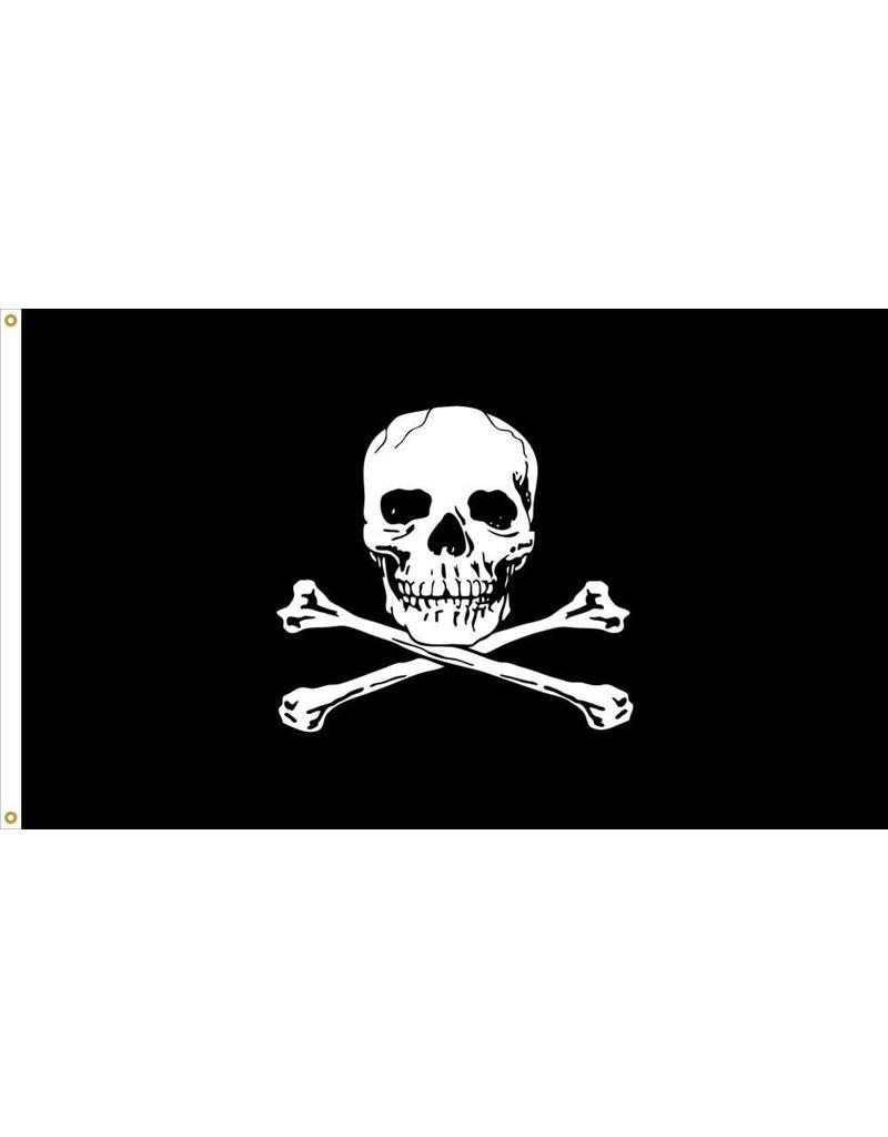 Jolly Roger Nylon Flag
