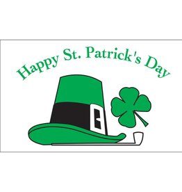 Happy St. Patricks Day 3x5' Nylon Flag