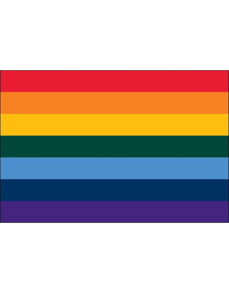 Rainbow Nylon Flag
