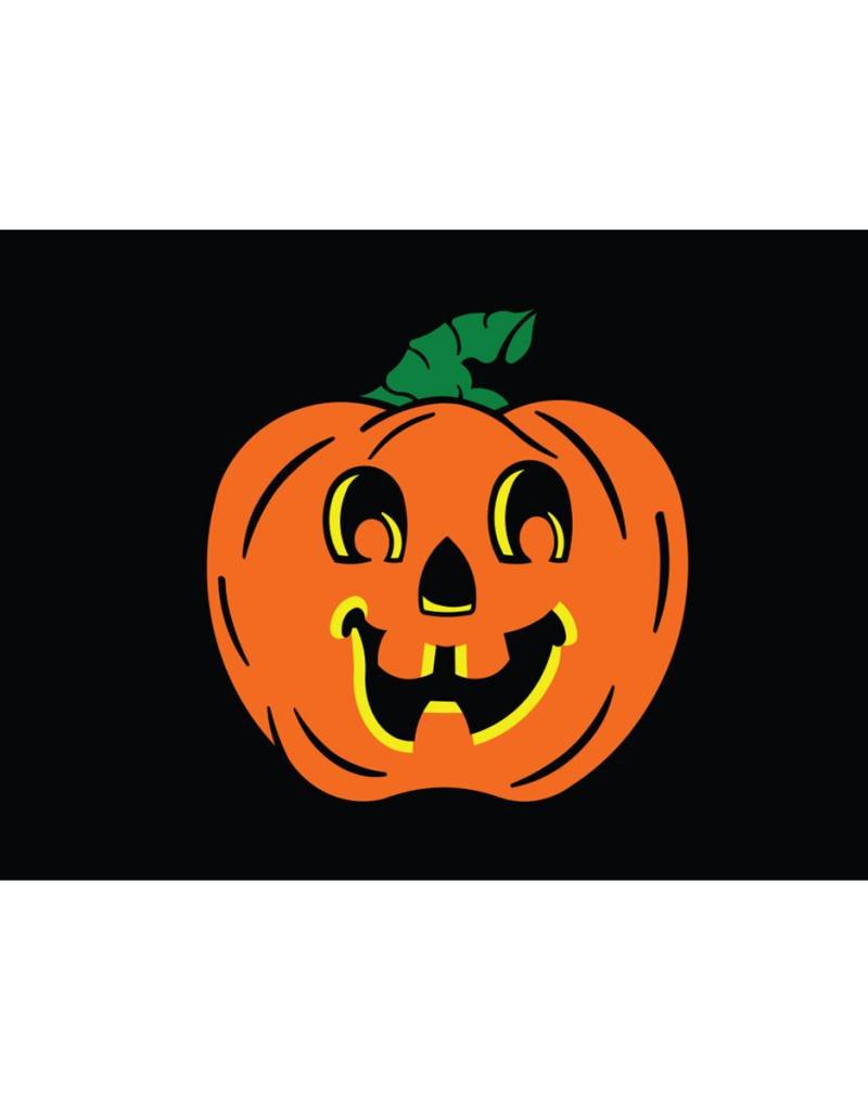 Pumpkin 3x5' Nylon Flag