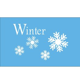 Winter 3x5' Nylon Flag