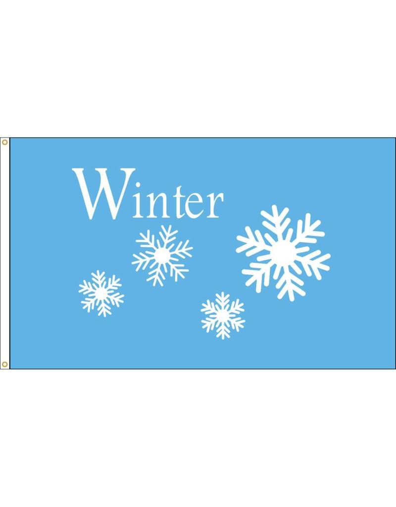 Winter 3x5' Nylon Flag