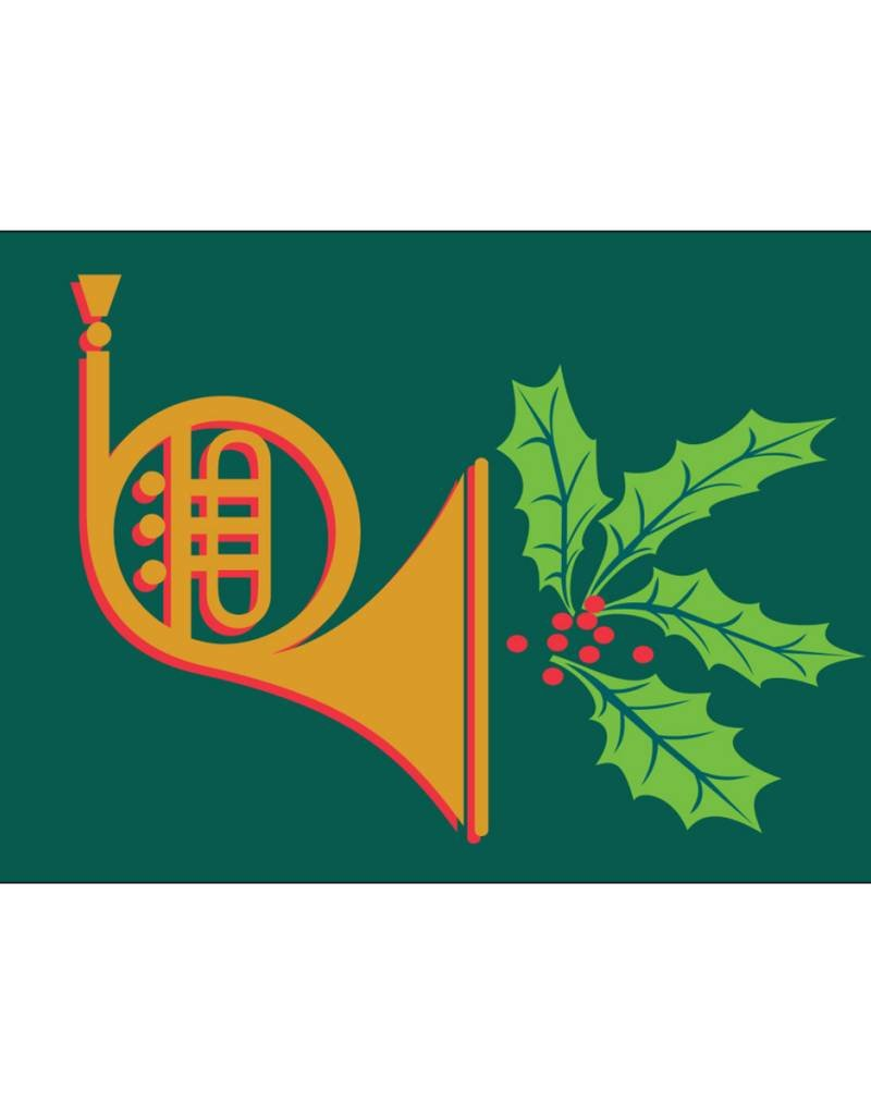 Holiday Horn 3x5' Nylon Flag