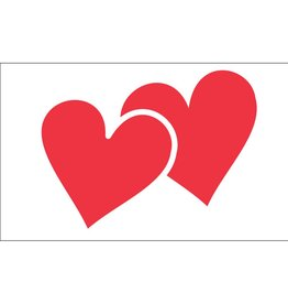 Valentine Hearts 3x5' Nylon Outdoor Flag