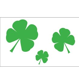 Shamrocks 3x5' Nylon Flag