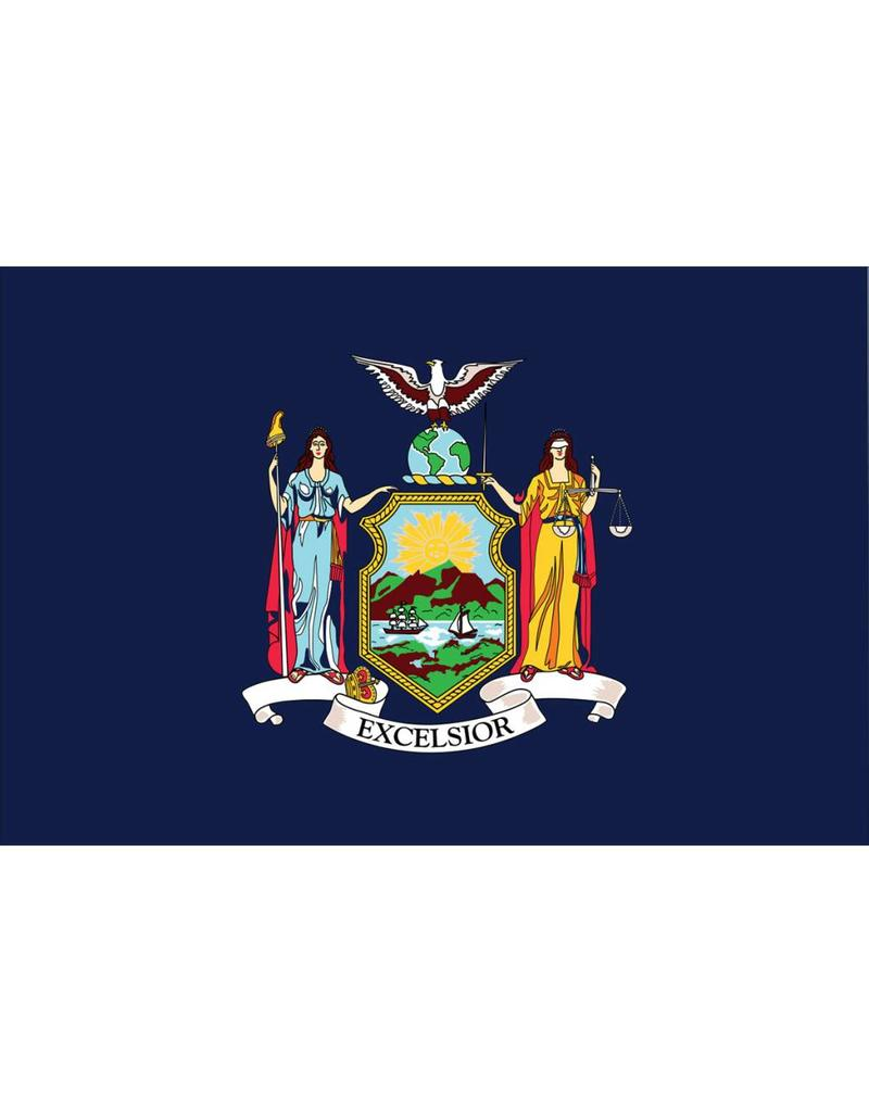 NY State Polyester Flag