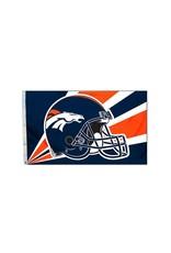 Denver Broncos 3x5' Polyester Flag